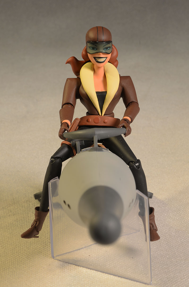 Batman Roxy Rocket figure and vehicle by DC Collectibles