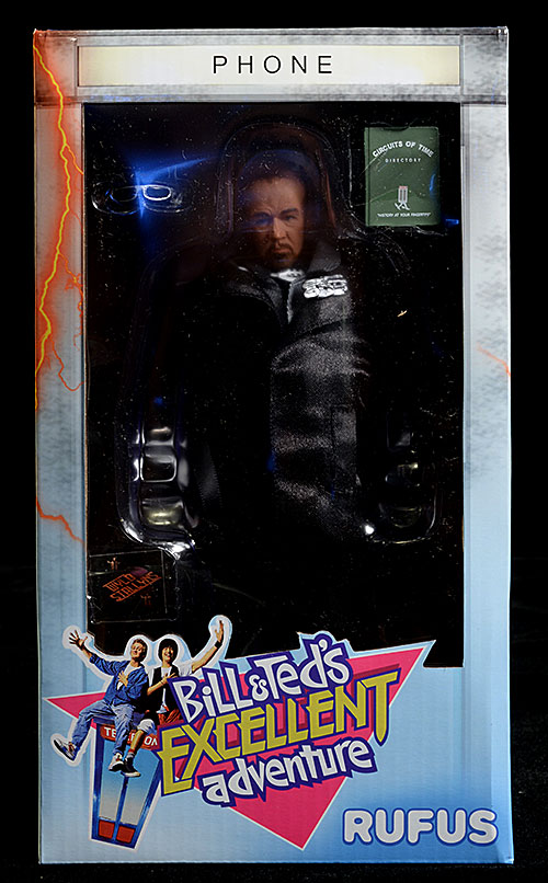 Bill & Ted's Excellent Adventure Rufus action figure by NECA