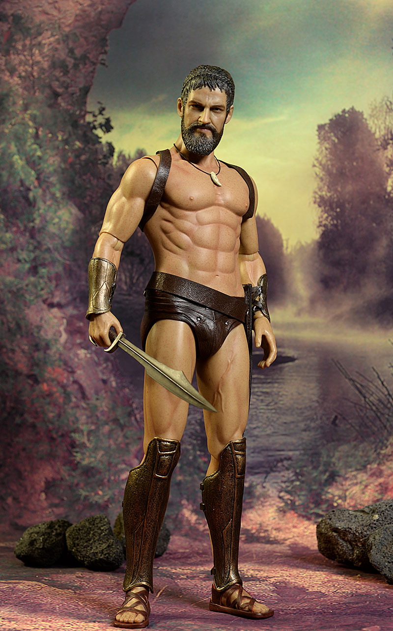 King Leonidas 1/6th action figure by Star Ace