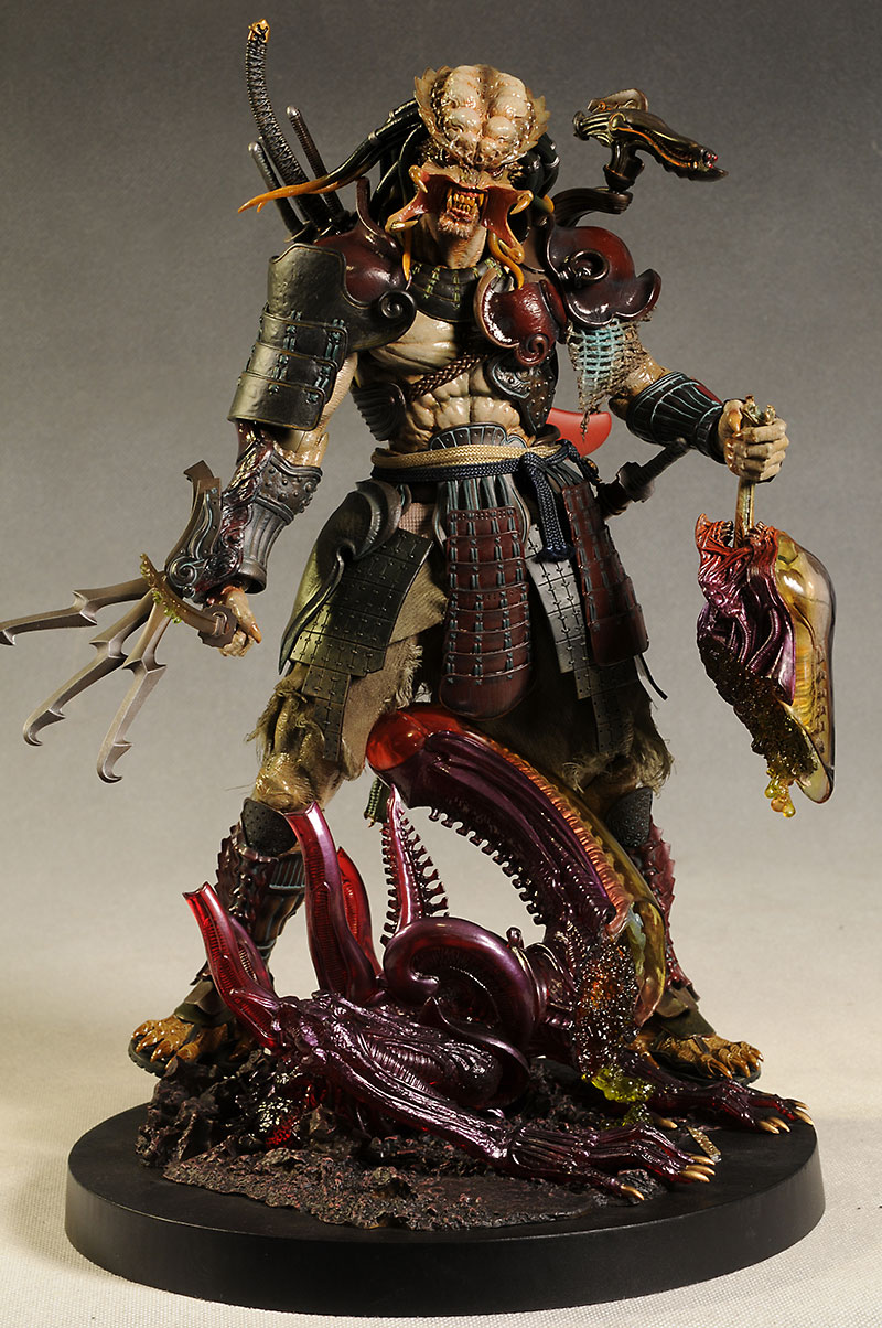 Review And Photos Of Samurai Predator 1 6th Action Figure