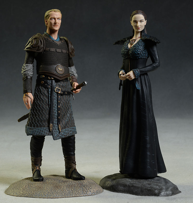 Game of Thrones Sansa, Jorah Mormont figures by Dark Horse