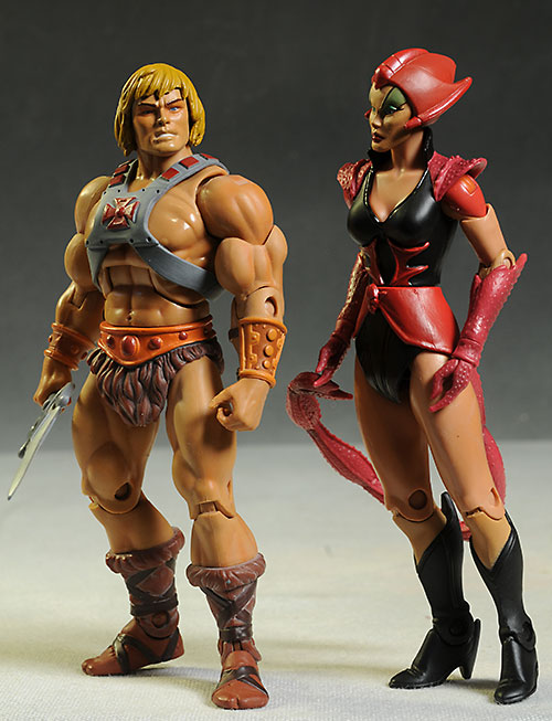 Scorpia Masters of the Universe Classics MOTUC action figure by Mattel