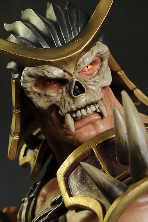 Mortal Kombat Shao Kahn statue by Pop Culture Shock