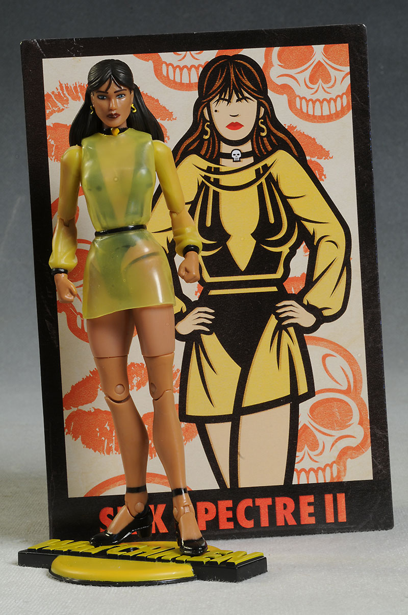 Silk Spectre II Watchmen action figure by Mattel
