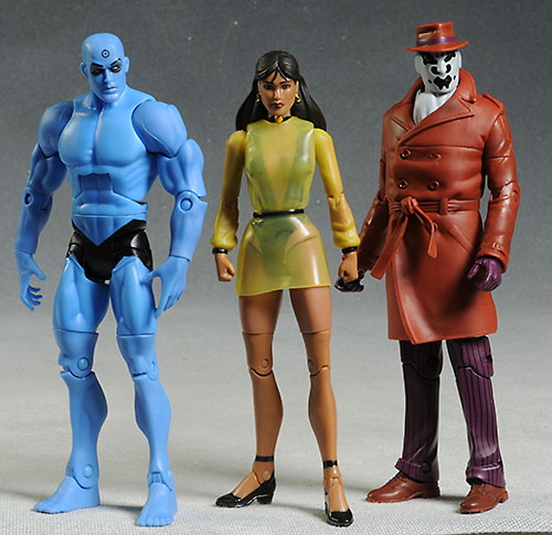 Silk Spectre 2 Watchmen action figure by Mattel