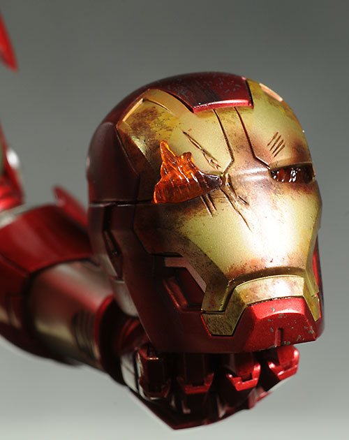 Iron Man Silver Centurion action figure by Hot Toys