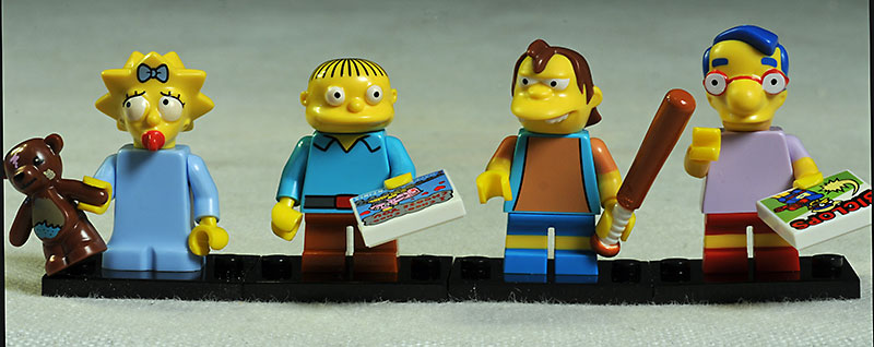 Simpsons mini figures by Lego