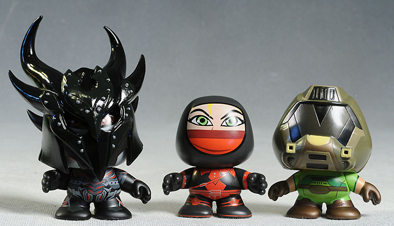 Skyrim and Doom action figures by Symbiote Studios