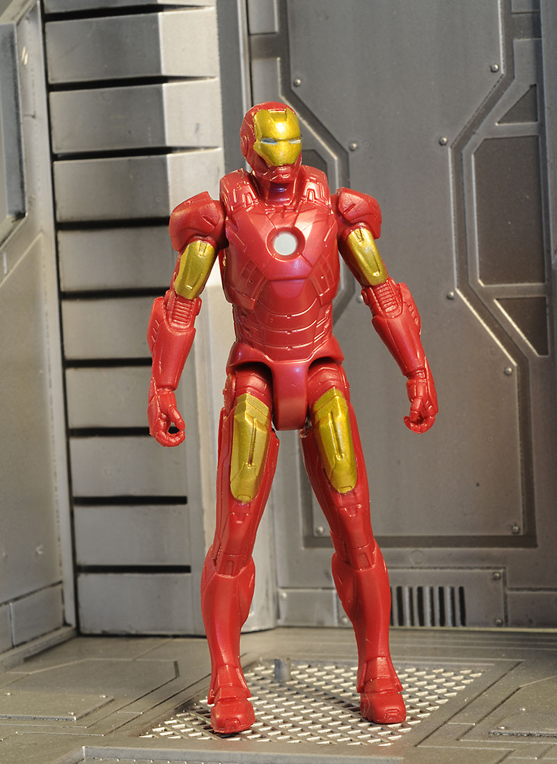 Shatter Blast Iron Man action figure by Hasbro