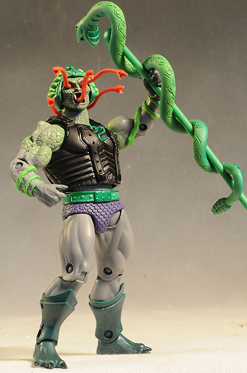 Masters of the Universe Classics Snake Face figure by Mattel