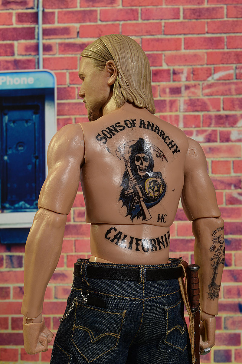 Sons of Anarchy Clay, Jax sixth scale action figure by Pop Culture Shock