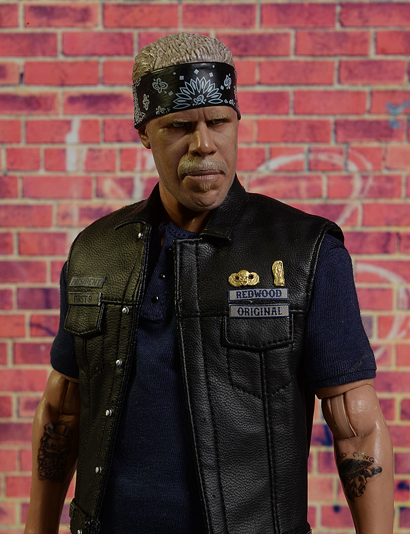 Sons of Anarchy Clay Morrow sixth scale action figure by Pop Culture Shock