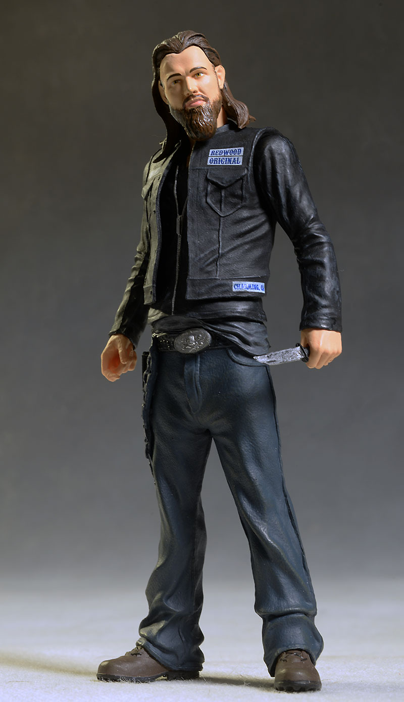 Sons of Anarchy Opie & Gemma action figures from Mezco