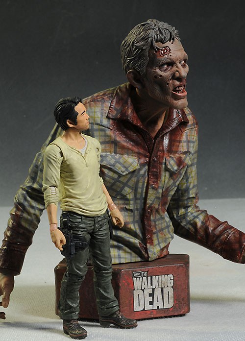 Sophia's Stalker Walking Dead mini-bust by Gentle Giant