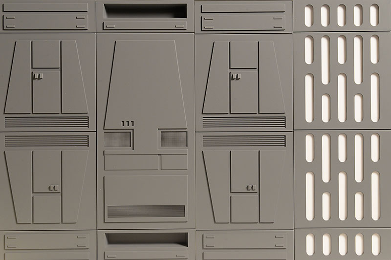 Space Walls Star Wars 1/12th diorama by GTP Toys