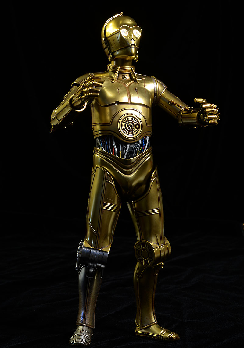 Star Wars C-3PO sixth scale action figure by Sideshow
