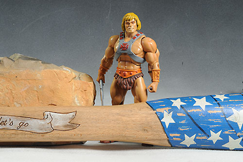 Kick-Ass 2 Betsy Ross prop replica by NECA