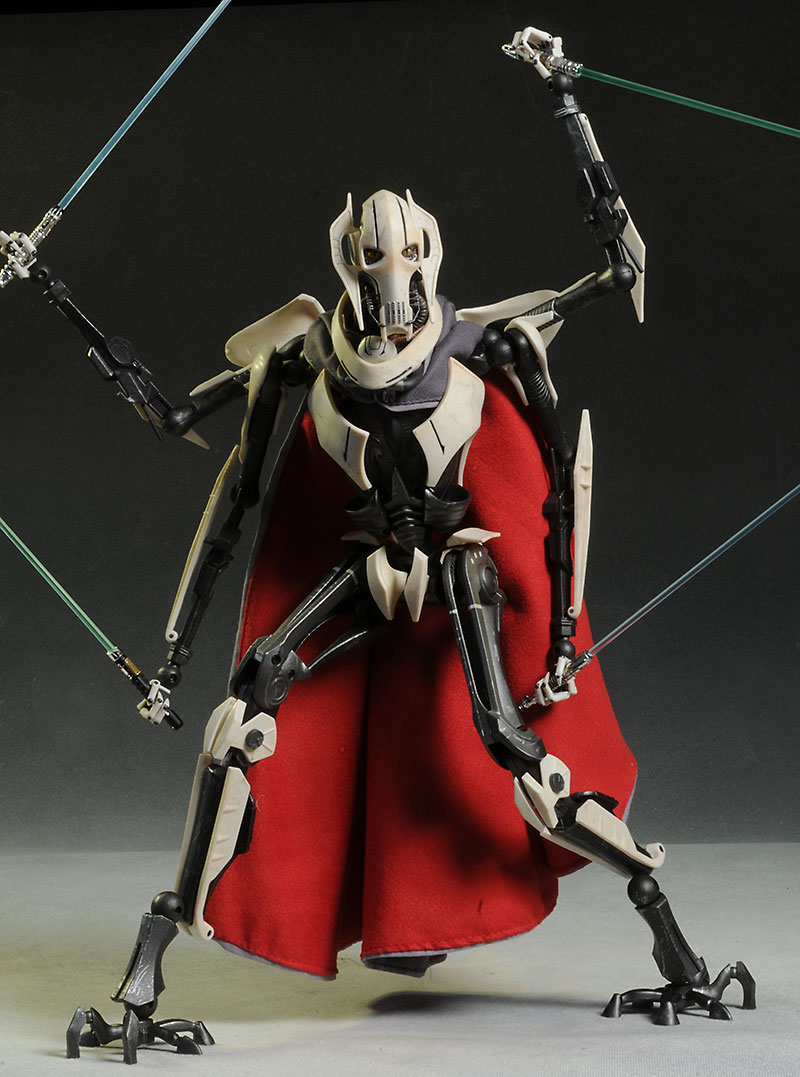 Star Wars General Grievous Toys : Review and photos of star wars general grievous sixth