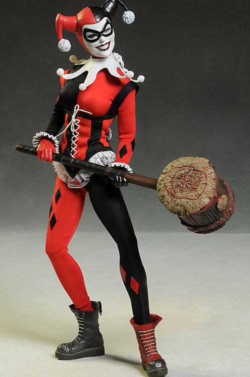 DC Harley Quinn exclusive sixth scale action figure from Sideshow