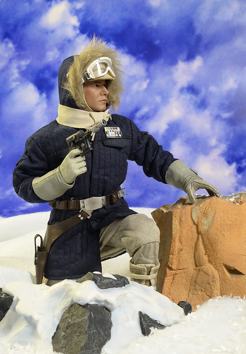 Star Wars Hoth Han Solo action figure by Sideshow