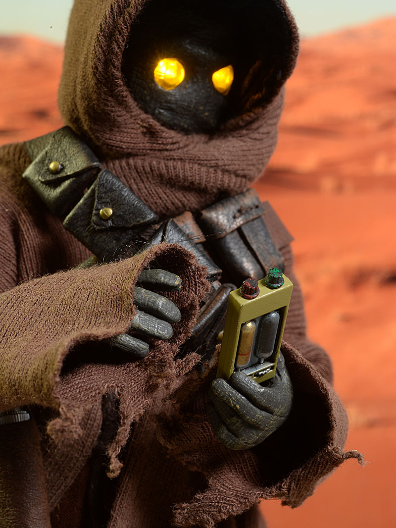 Review And Photos Of Sideshow Star Wars Jawa Two Pack