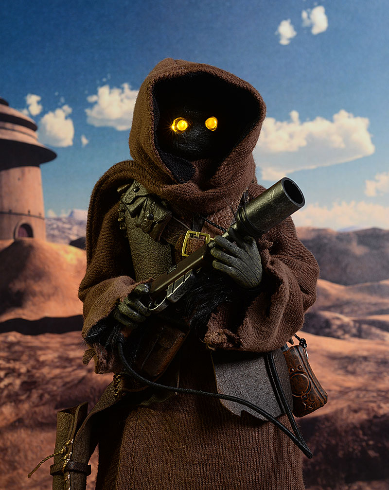 Star Wars Jawa two pack sixth scale figures by Sideshow Collectibles