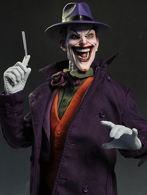 Joker DC Comics sixth scale action figure from Sideshow