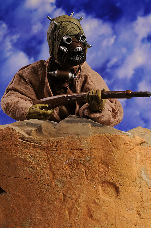 Star Wars Tusken Raider action figure by Sideshow