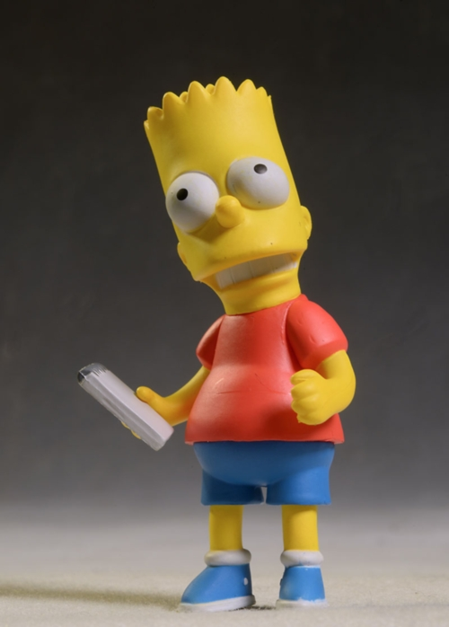 Simpsons Celebrity Stan Lee, Bart action figure by NECA