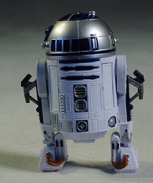 R2-D2 Star Wars Black action figure by Hasbro