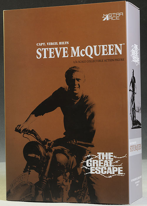 Steve McQueen Great Escape action figure from Star Ace