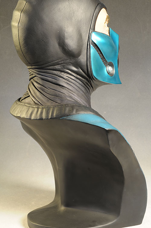 Sub-Zero Mortal Kombat life size bust by Pop Culture Shock