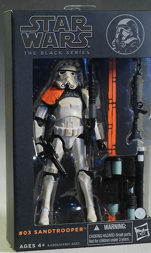 Sandtrooper Star Wars Black action figure review
