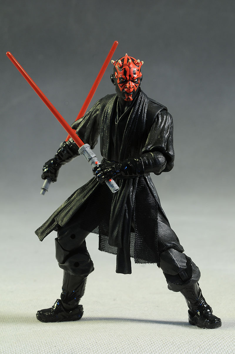 Darth Maul Star Wars Black action figure review