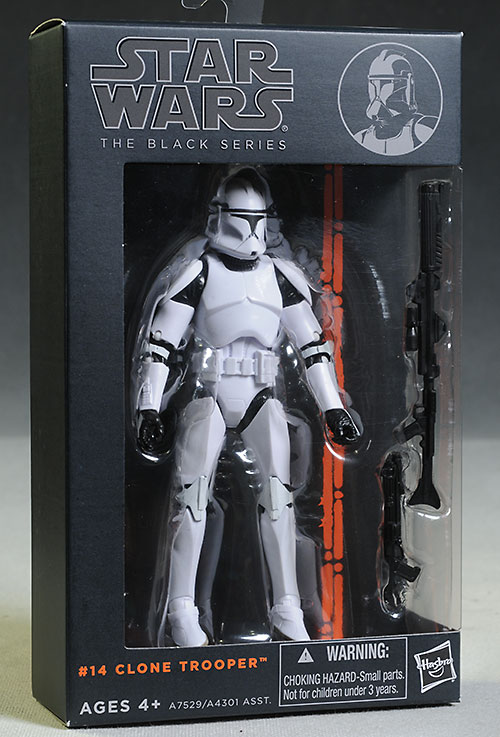Star Wars Black Clonetrooper & Anakin Skywalker action figures by Hasbro