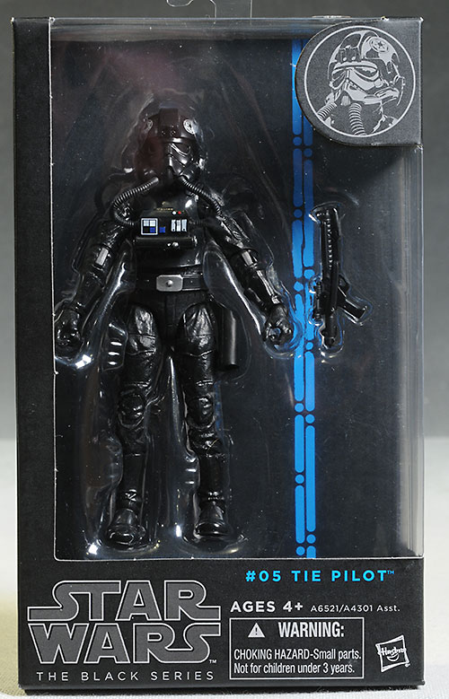 Star Wars Black Yoda, Clonetrooper Sergeant, TIE Pilot action figures from Hasbro