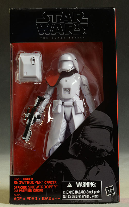 """Star Wars Black Series first order Snowtrooper ActionFigure 6/"""" inch HASBRO A"""