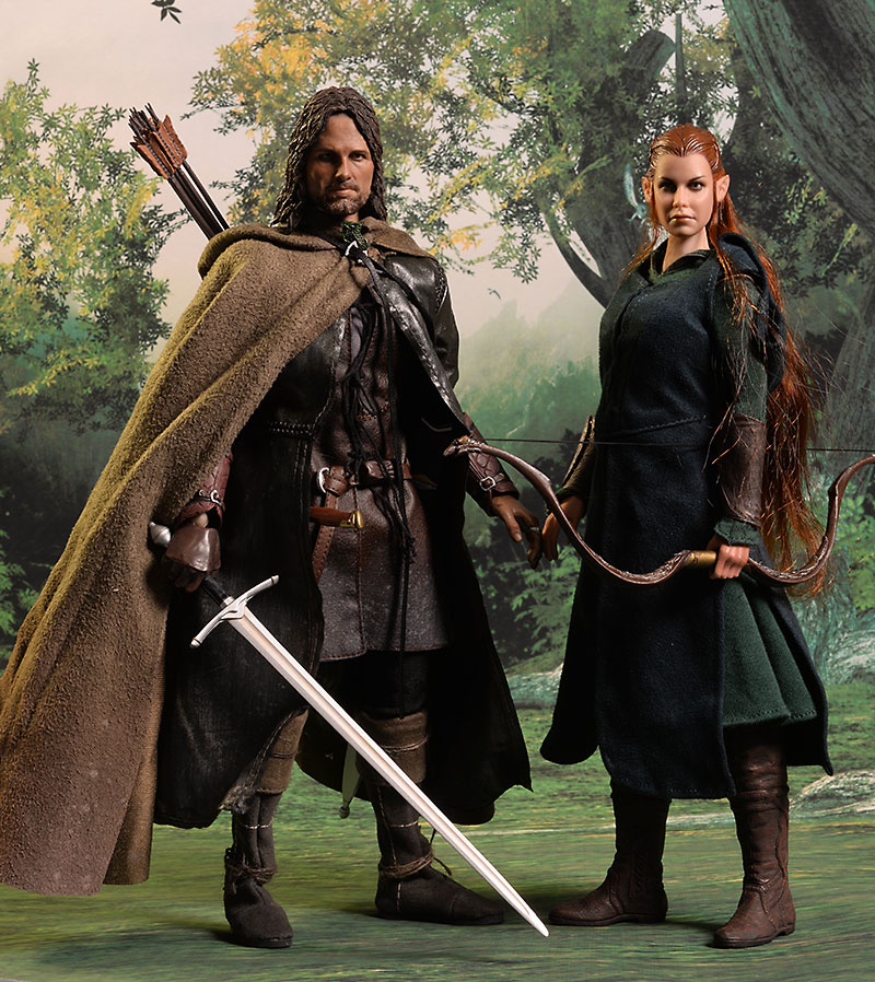 The Hobbit Tauriel sixth scale action figure by Asmus