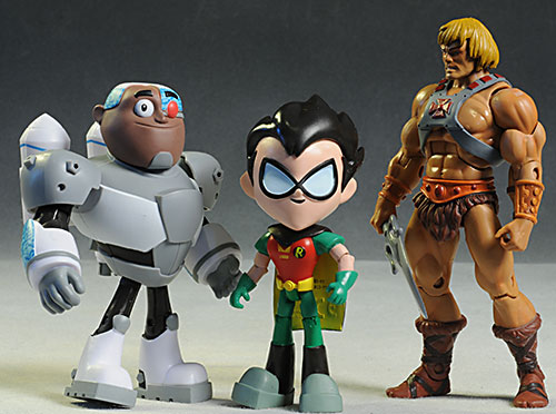 Robin and Cyborg Teen Titans Go! action figure by Jazwares