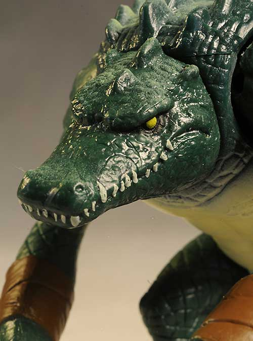TMNT Raphael, Leatherhead action figures from Playates