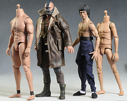 Hot Toys TTM 20, 21, 22 sixth scale male action figure bodies