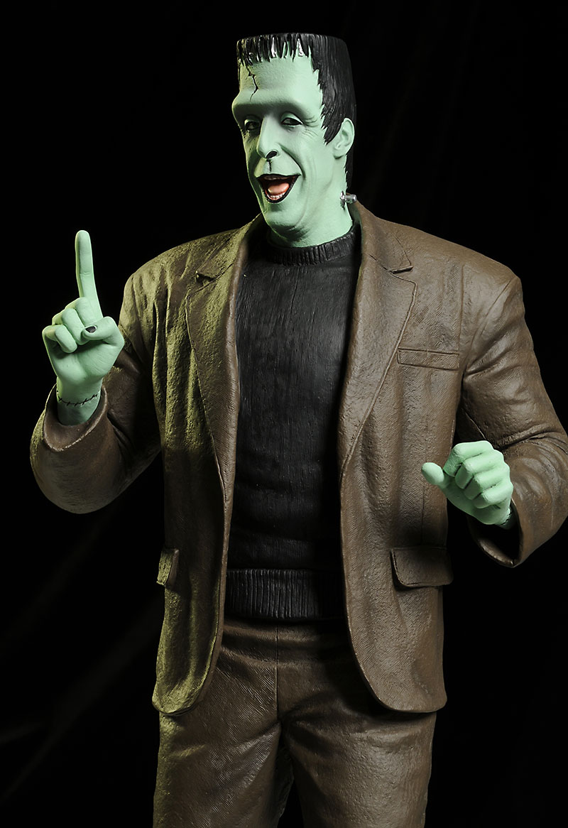 Herman Munster statue by Tweeterhead