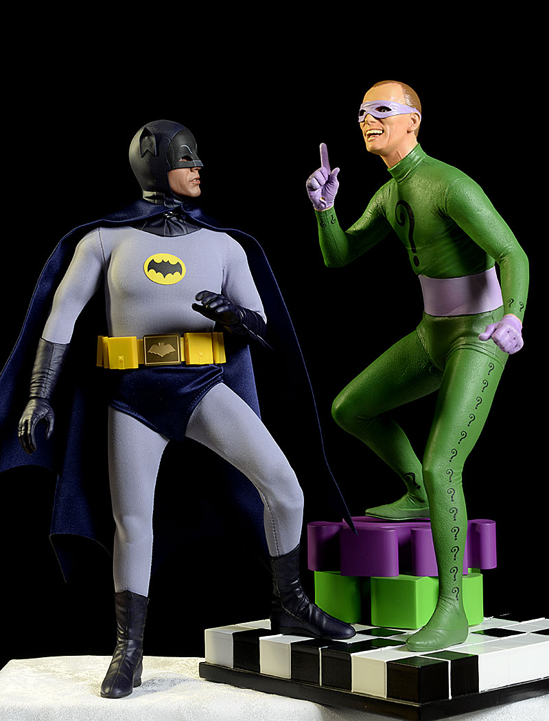 1966 Batman TV Show Gorshin Riddler statue by Tweeterhead