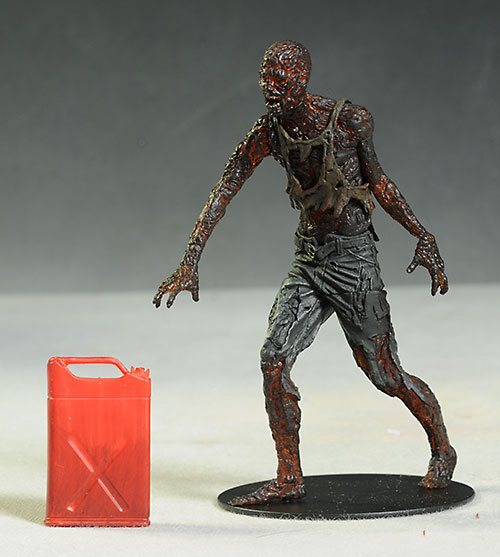 Charred walker Walking Dead action figure by McFarlane Toys
