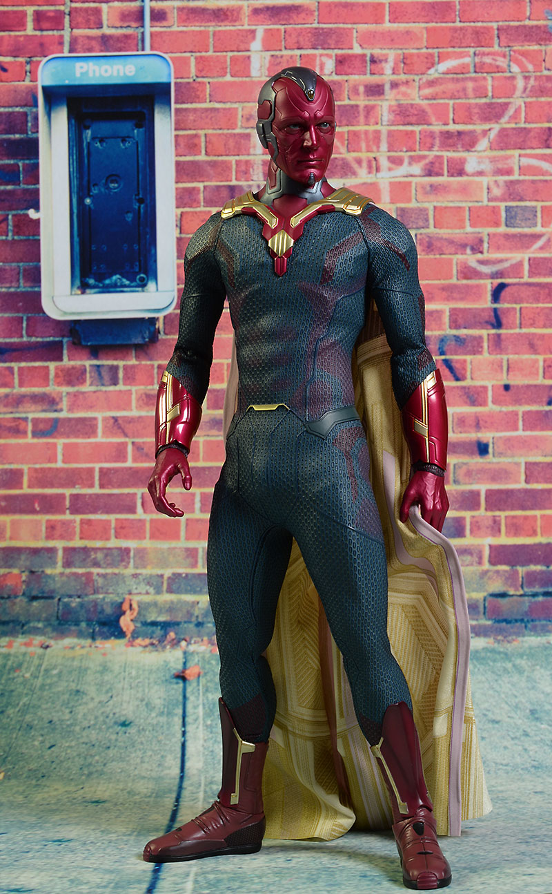 Avengers Vision sixth scale action figure by Hot Toys