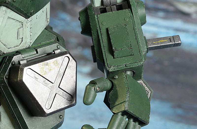 ThreeZeroVOTOMS Armored Scopedog Trooper and Vehicle action figure by ThreeZero