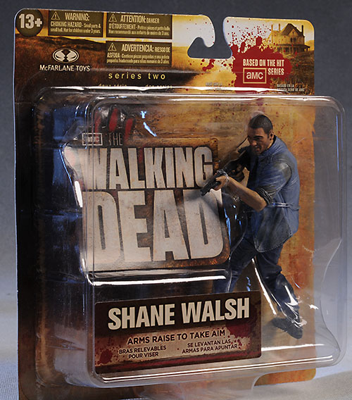 Shane, Bicycle Girl Walking Dead action figures by McFarlane