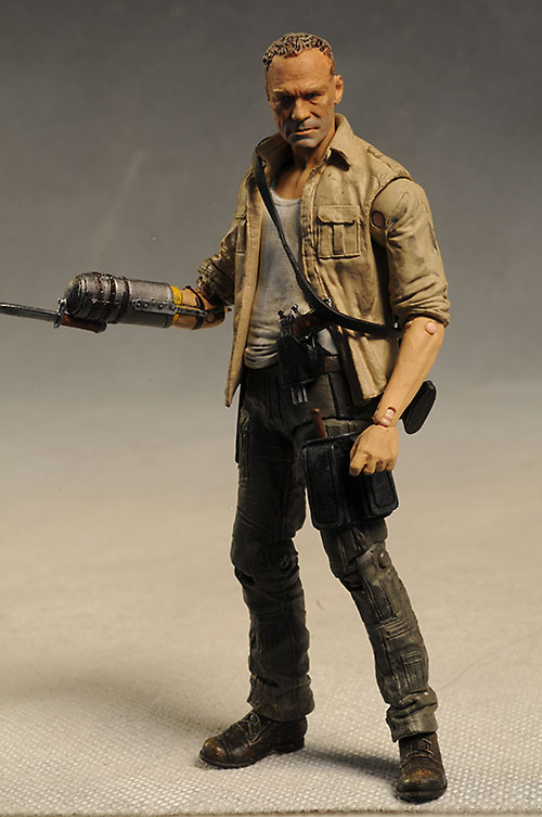 Merle, Michonne Walking Dead action figure by McFarlane Toys