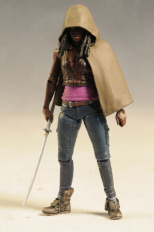 Michonne Walking Dead action figure by McFarlane Toys