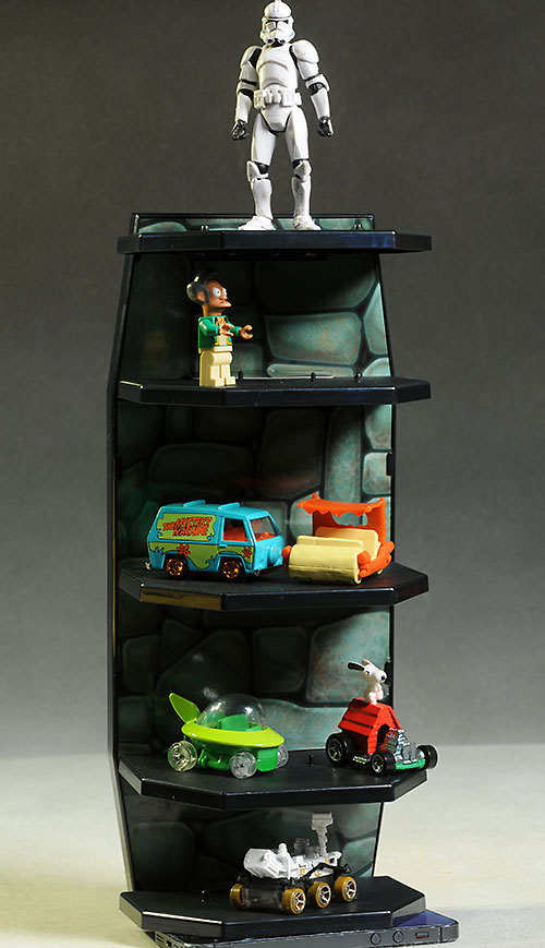 Wall Hanging Action Figure Display by Mattel